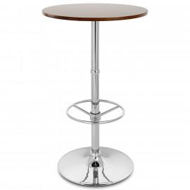 Tavolo da bar Cromato - Dial Rotondo