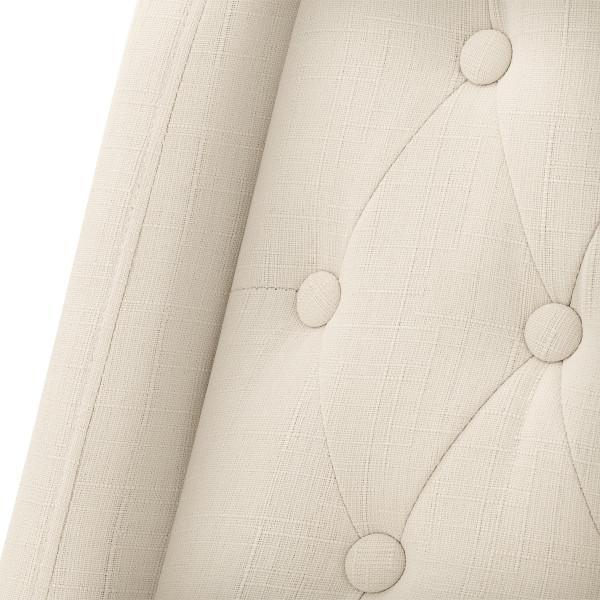Sedia Tessuto Quercia - Chatsworth Crema