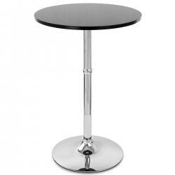 Tavolo da bar Legno Cromato - Sovereign Rotondo