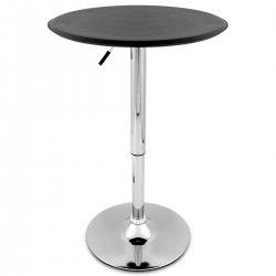 Tavolo da bar Ecopelle Cromato - Donna