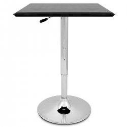 Tavolo da bar Ecopelle Cromato - Rebecca