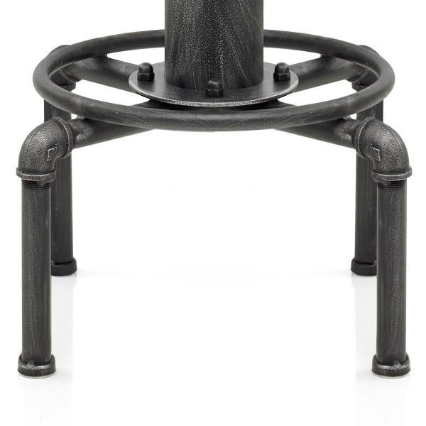 Sgabello Legno Metallo - Hydrant Antico