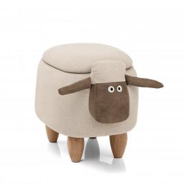 Sgabello per Bambini Contenitore - Sheep