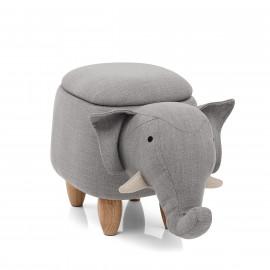 Sgabello per Bambini Contenitore - Elephant
