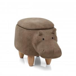 Sgabello per Bambini Contenitore - Hippo